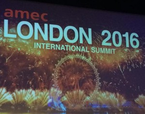 AMEC Summit in 2016 in London