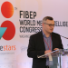Ed Clarke speaking at the FIBEP World Media Intelligence Congress in Washington DC, November 2016