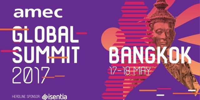 AMEC Global Summit, Bangkok, 17-18 May 2017