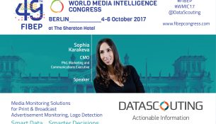 DataScouting, Meet us at the FIBEP WMIC17
