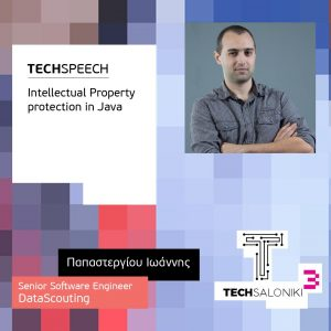 John Papastergiou, Senior Software Developer, DataScouting, keynote at TechSaloniki, October 2017