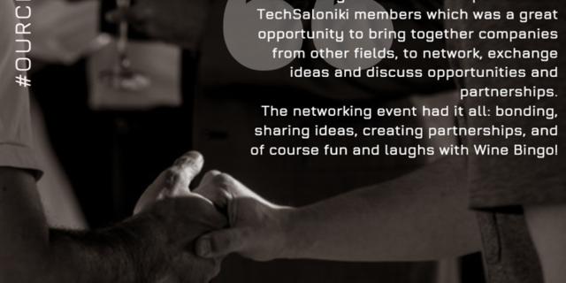 TechSaloniki «Οίνο-Vate» CEO Networking event