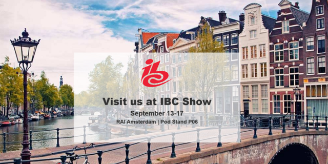 DataScouting at the IBC Show 2019