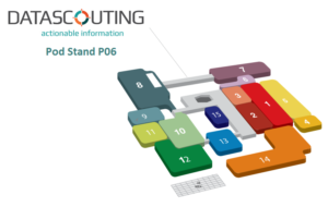 DataScouting at IBC, Pod Stand P06