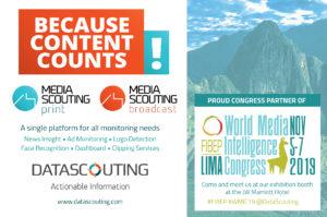 FIBEP World Media Intelligence Congress, Lima - DataScouting