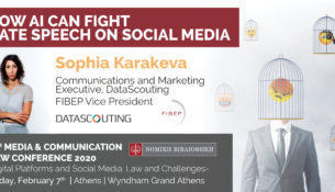 Sophia Karakeva at the 6th Media & Communication Law Conference 2020