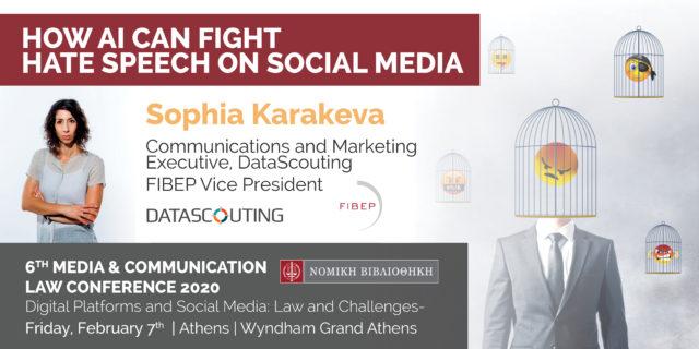 Sophia Karakeva at the 6th Media & Communication Law Conference 2020