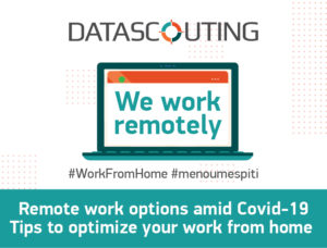 Remote work options amid COVID-19
