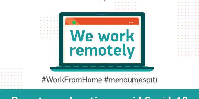 Remote work options amid COVID-19