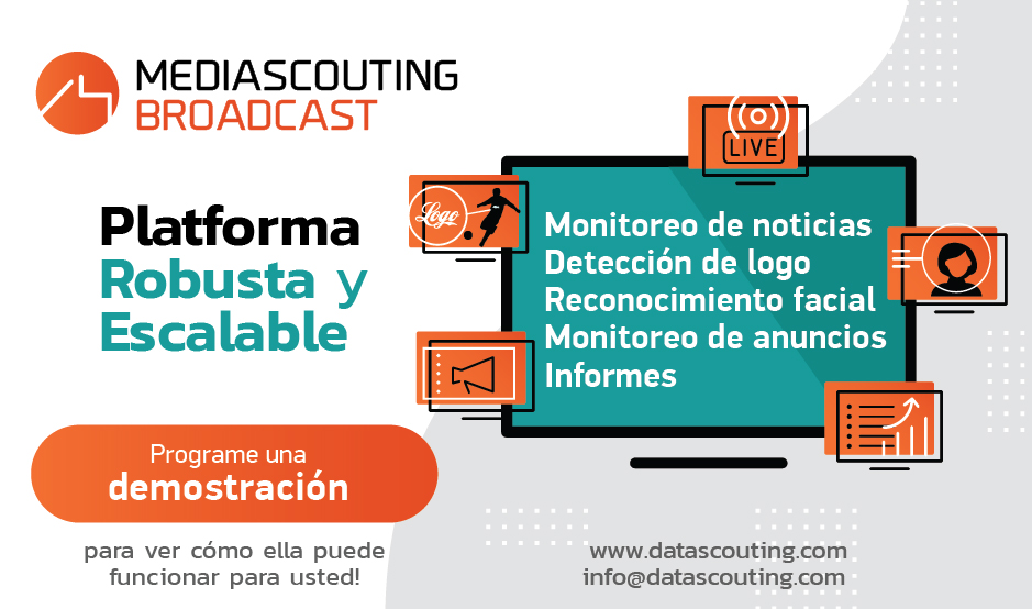 Monitoreo Broadcast software suite MediaScouting Broadcast