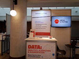 DataScouting exhibe soluciones de software para monitoreo de impresión y transmisión en la AMEC Global Summit, Praga, 2019