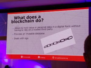 Slide de la presentación de Jakub Jedlinsky's en AMEC Global Summit en Praga