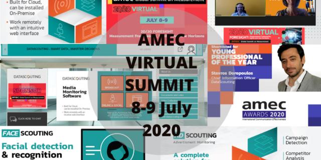 DataScouting at the AMEC Virtual Global Summit 2020