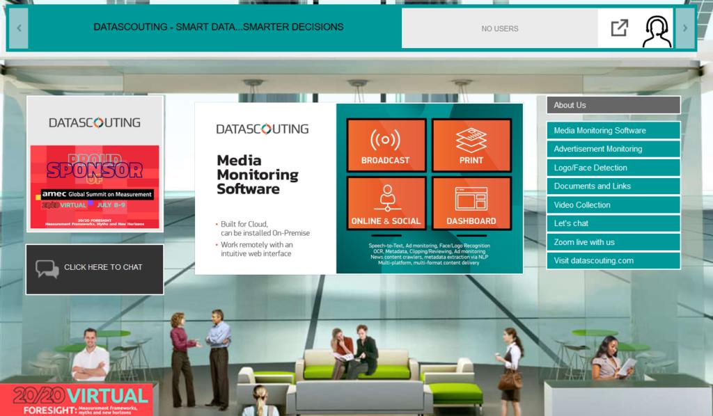 AMEC Virtual Global Summit 2020_DataScouting Booth