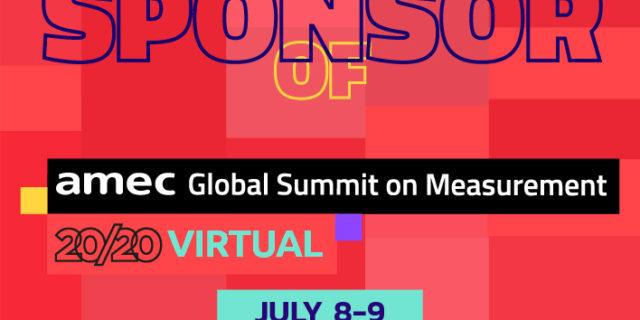 AMEC Virtual Summit 2020 - Patrocinador orgulloso