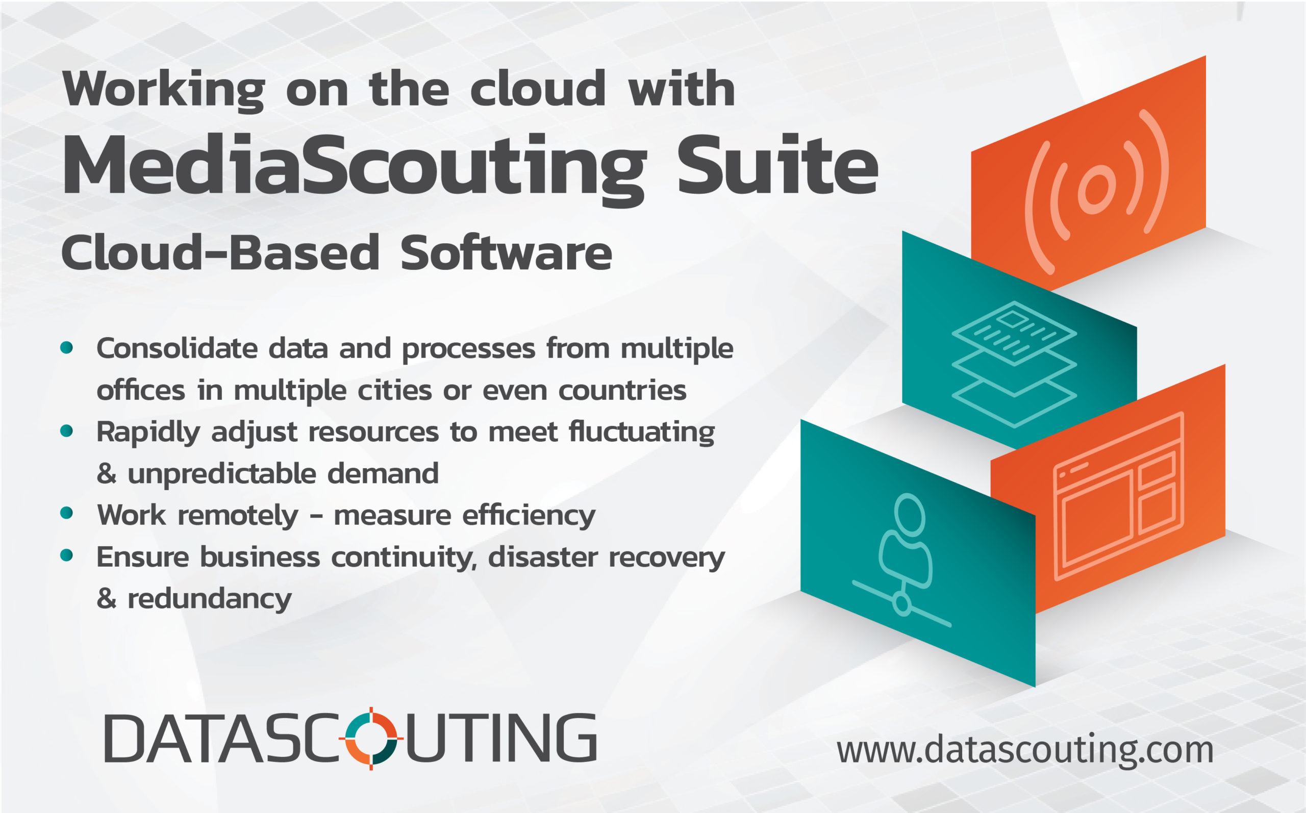 MediaScouting-cloud based software solution by DataScouting