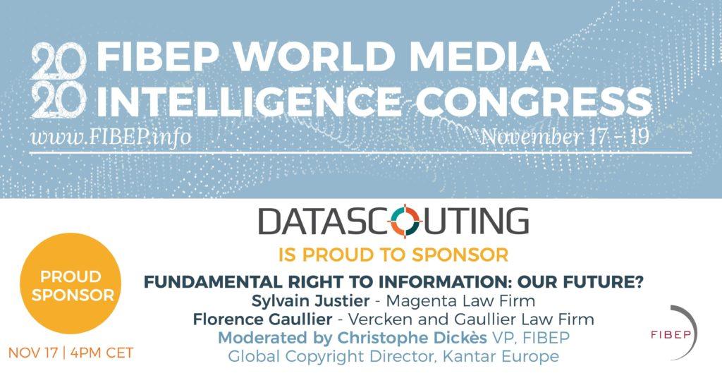 DataScouting at the FIBEP WMIC 2020 - Sponsor