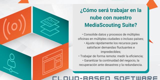 ¿Cómo se siente trabajar con nuestro software basado en la nube, MediaScouting Suite?