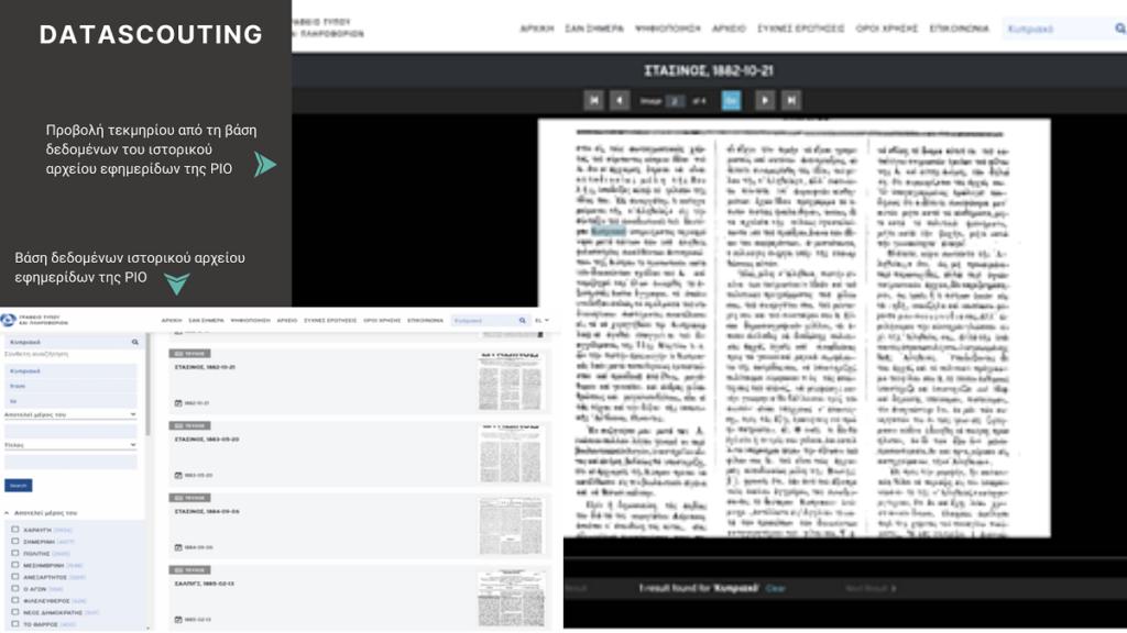 Ψηφιοποίηση και τεκμηρίωση: Ολοκληρώθηκαν με απόλυτη επιτυχία δύο από τα πλέον σημαντικά έργα για τη DataScouting