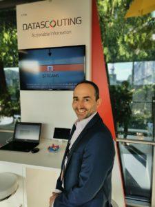 Ο Αναστάσιος Αβράμης, Managing Partner της DataScouting στη διεθνή έκθεση IBC Show στο Άμστερνταμ, Σεπτέμβριος 2019