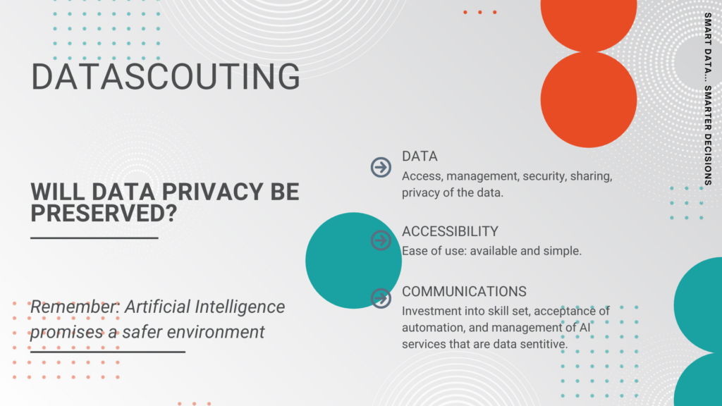 Will data privacy be preserved