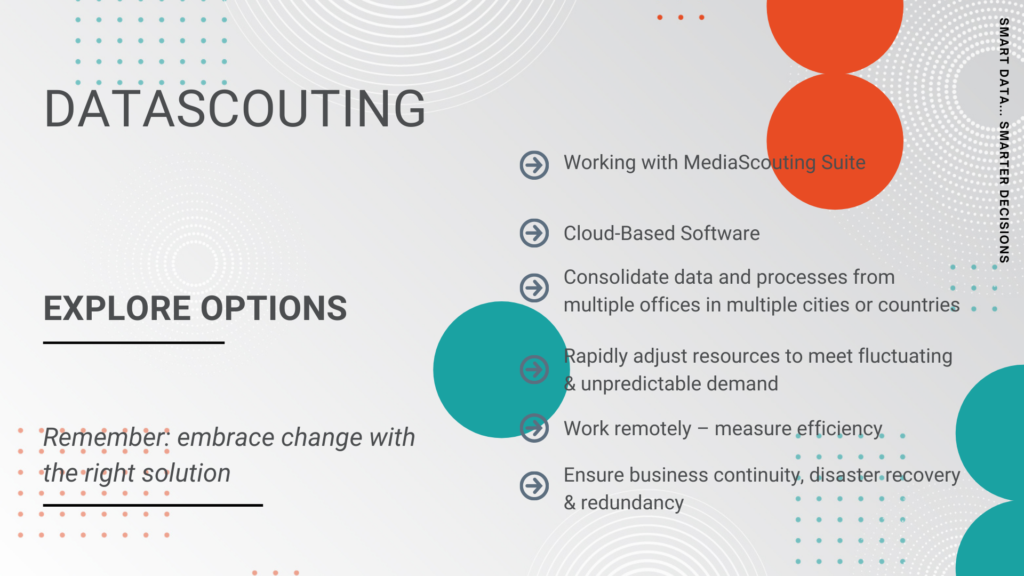 Explore options with DataScouting's MediaScouting Suite