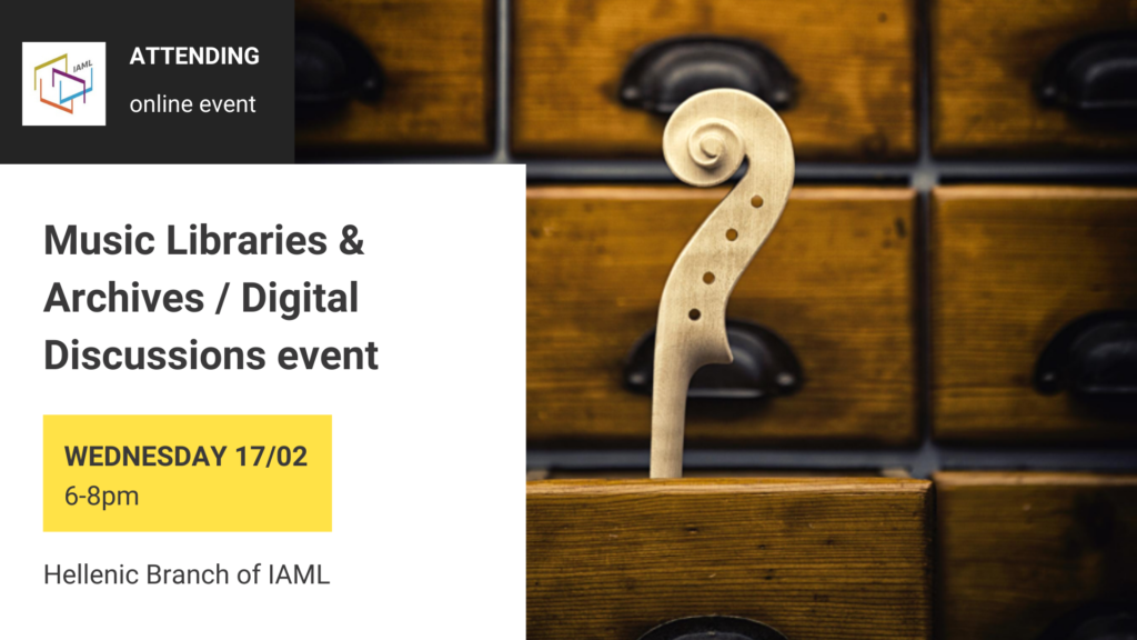 Music Libraries & Archives-Digital Discussions