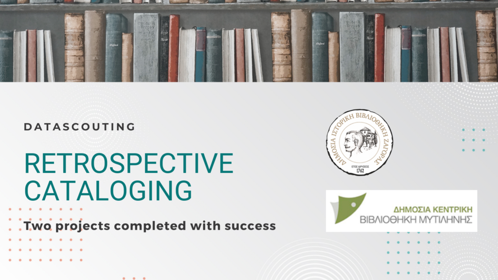 Two new retrospective cataloging projects have been implemented with great success