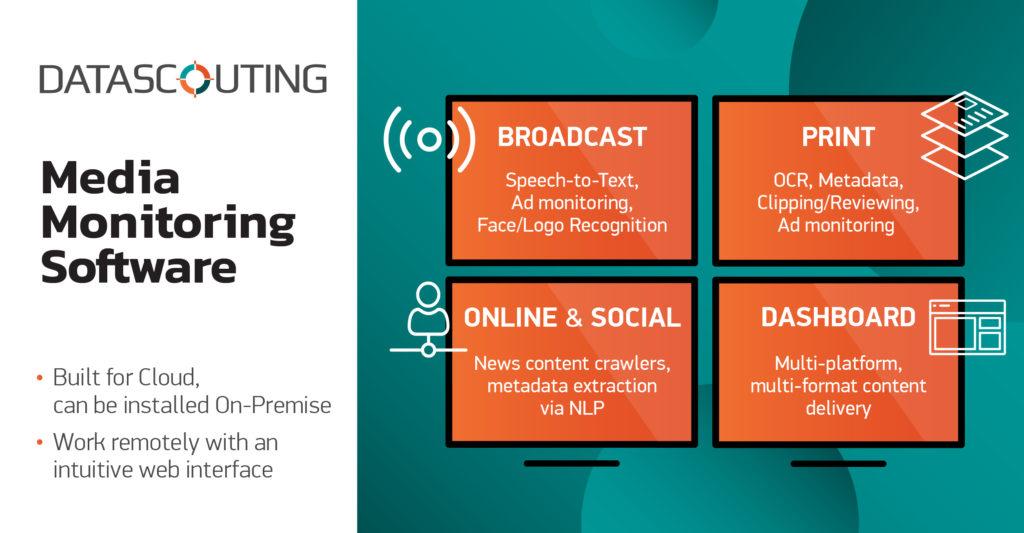 DataScouting Media Monitoring Software