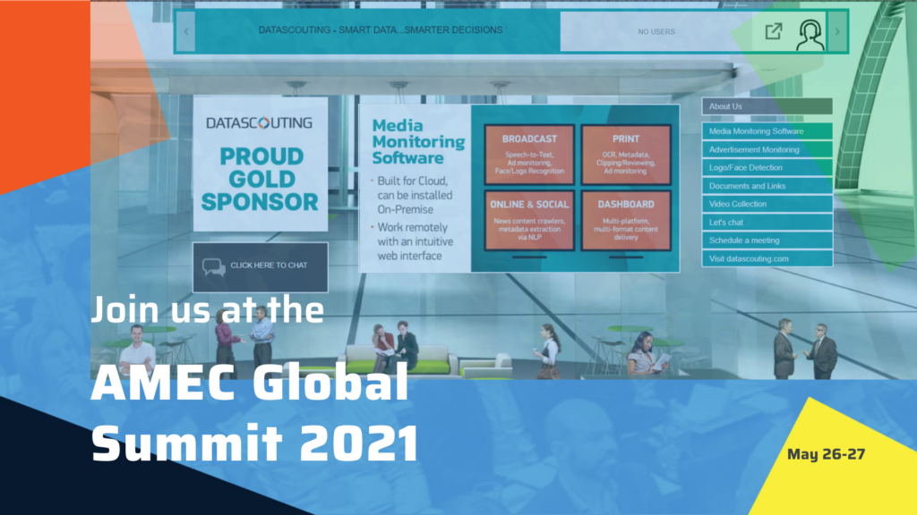 AMEC Summit 2021_DataScouting_Visit our booth
