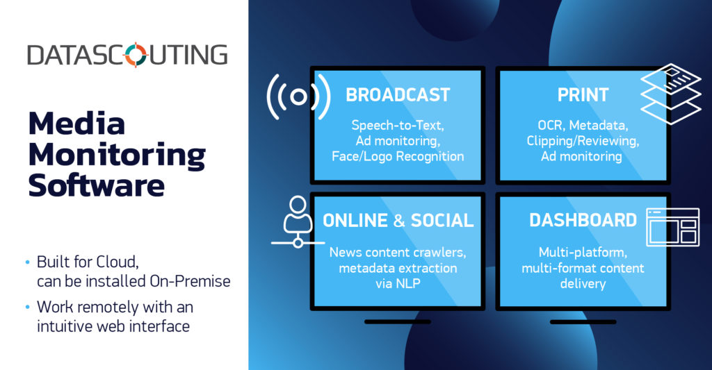 DataScouting - Media Monitoring Software