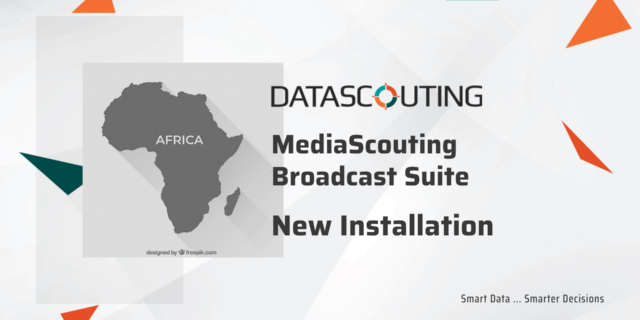 DataScouting MediaScouting Broadcast Suite installed in Nigeria