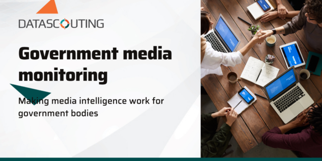 Making media monitoring work for government bodies